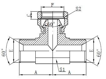BSP Hydraulické T-kreslenie