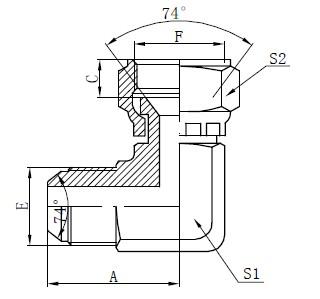 JIC Ploché konektory kreslenie