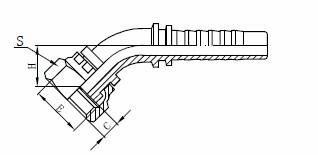 Súprava hydraulických hadíc R1AT