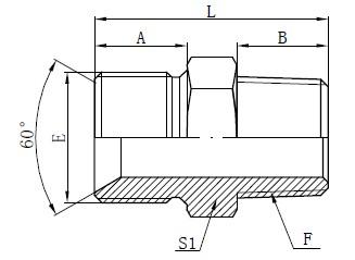 Kreslenie priameho adaptéra